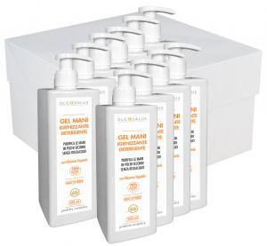 Gel Mani Igienizzante Detergente 500ml DLG SALUS 10PZ #N90056004647