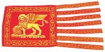 Bandiera in stamigna S.Marco Venezia 12x24cm #N30112503700