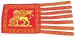 Bandiera in stamigna S.Marco Venezia 30x60cm #N30112503702