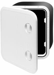 Walk on deck storage hatch with flap 459X514X330mm #FNI2522459