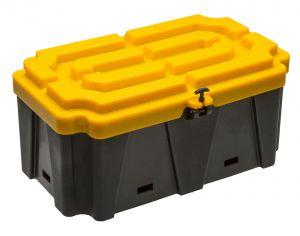 Cassetta in plastica porta batterie 457x720x330h mm #FNI3927673