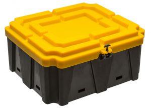 Plastic battery box 660x720x330h mm #FNI3927674