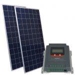 Suntech Kit Solare Fotovoltaico 24V 550W Poly Regolatore MPPT 20A #N54130200257