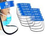 Transparent Reusable Anti-Splash Protection Face Mask Minimum quantity 10pcs #N90056004585-10