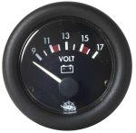 Voltometro Guardian 10-16V Nero #OS2743301