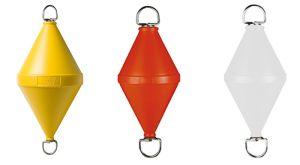 Orange biconical mooring buoy 22Lt #FNI1515722A