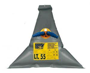 Triangular waste water flexible tank Capacity 55Lt 950x950mm #FNI2323137