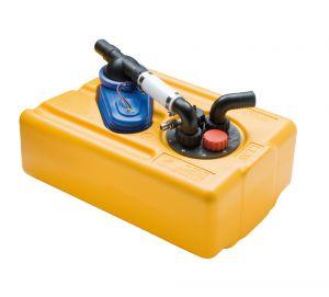 Serbatoio acque nere e grigie Capacità 83LT 850x390x290mm #FNI2323163