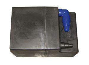 Waste water tank Capacity 60L 700x330x330h mm #FNI2323165