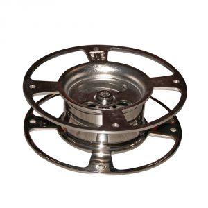 Base in acciaio inox regolabile 0-5° per Antenna Sat Glomex #FNI5509500