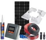 Photovoltaic 12V 100W Kit complete with Accessories and MPPT 20 12/24V Solar Charger #N54130200148