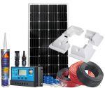Kit Fotovoltaico 12V 180W Completo di Accessori e Regolatore PWM 30 12/24V #N54130200217