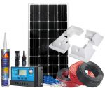 Photovoltaic 12V 180W Kit complete with Accessories and PWM 30A 12/24V Solar Charger #N54130200217