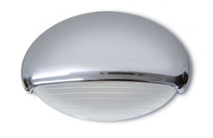 Quick EYELID 0.5W 10-30V LED Courtesy Light in Plastic and Mirror Polished S.S. #Q25200000