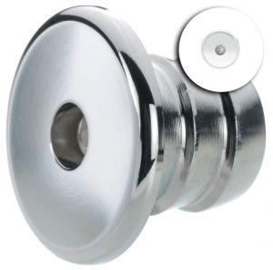 Quick Luci LED di Cortesia TINA 0.48W 10-30V Inox AISI316 e Bianco 9010 #Q25200004