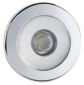 Quick IRENE 0.48W 10-30V LED Courtesy Light in Mirror Polished Stainless Steel #Q25200007