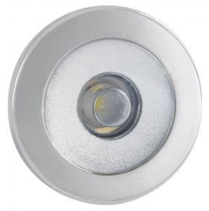 Quick IRENE 0.48W 10-30V LED Courtesy Light in Stainless Steel Satin Finish #Q25200008