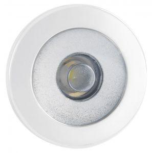 Quick Luci LED di Cortesia IRENE 0.48W 10-30V Inox AISI 316 Bianco 9010 #Q25200009