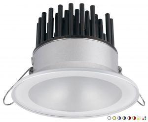 Quick ZEUS LP 12W 10-30V LED Downlight 675-895lm IP40 5.5mm Glass #Q25300013