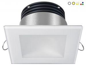 Quick Faretto LED ad Incasso DANAE LP 7W 10-30V IP40 in Vetro 5.5mm #Q25300015