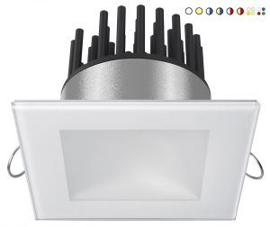 Quick DANAE LP 12W 10-30V LED Downlight 610-796lm IP40 5.5mm Glass #Q25300017