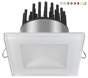 Quick Faretto LED ad Incasso DANAE HP 12W 10-30V IP40 in Vetro 9.5mm #Q25300018