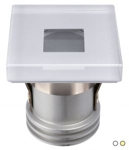 Quick Faretto LED ad Incasso SUGAR HP 3W 10-30V IP65 in Vetro 9mm CO40 #Q25300026