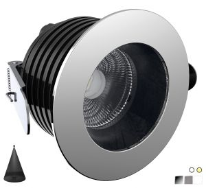 Quick PALLADIO R90 25° 10W 650-700lm IP66 DL90 Anti-glare LED Downlight #Q25300033