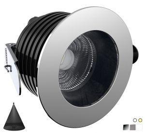 Quick PALLADIO R90 55° 10W 755-810lm IP66 DL90 Anti-glare LED Downlight #Q25300034