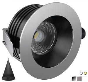 Quick PALLADIO R105 25° 13W 930-1000lm IP66 Anti-glare LED Downlight #Q25300035