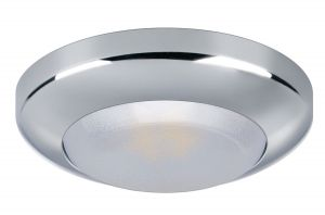 MIRÒ 2W 10-15V LED Ceiling Light 3100K Warm White 133lm Chrome Frame #Q27002417