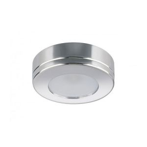 Quick Plafoniera LED BARBIE C 2W 10-30V Acciaio Inox Lucido IP66 Ø72.5mm #Q27002418