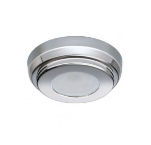 Quick TIM C 2W 10-30V Polished Stainless Steel LED Ceiling Light Ø90mm #Q27002420