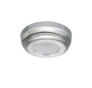 Quick Plafoniera LED MINDY C 2W 10-30V Acciaio Inox Satinato IP40 Ø90mm #Q27002427