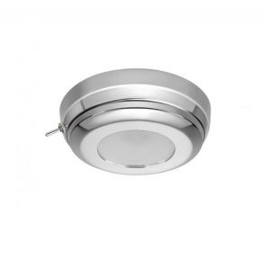 Quick MINDY CS 2W 10-30V Polished Stainless Steel LED Ceiling Light with Switch #Q27002429
