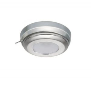 Quick MINDY CS 2W 10-30V Stainless Steel Satin finish LED Ceiling Light w/Switch #Q27002430
