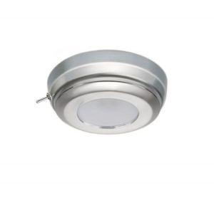 Quick Plafoniera LED MINDY CS 2W 10-30V Inox Satinato con Interruttore #Q27002430