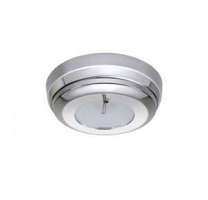 Quick Plafoniera LED SANDY C 2W 10-30V Inox Lucido con Interruttore #Q27002432