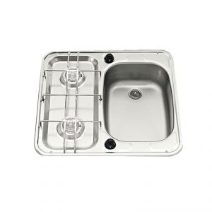 Hob and sink 49x46cm Sink on the right #FNI2424015