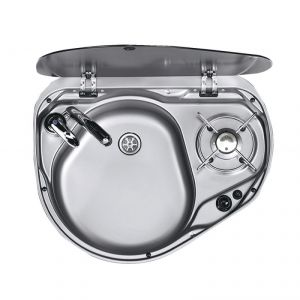 1-burner hob/sink combination with cover 525x125x421mm #FNI2424044