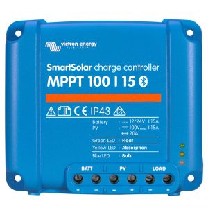 Victron Energy Regolatore di carica SmartSolar MPPT 100V 15A #UF22401U