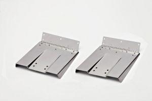 "Uflex P1218 Pair Mirror Polished Stainless Steel trim tab blades 12""x 18"" #UF41847V"