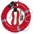 Ring lifebuoy Ø 40x64cm with rescue light and rope #OS2243903