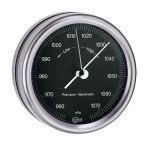 Barigo Barometer Orion series Ø85/102mm Black Dial #OS2808230
