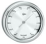 Barigo Barometer Orion series Ø85/102mm Silver Dial #OS2808330
