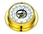 Barigo Tempo M Polished stamped plate Barometer 110x32mm #OS2818300