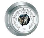 Barigo Sky Satin-finished Stainless Steel Barometer 110x32mm #OS2818500