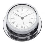 Barigo Star Chrome-plated brass Clock with alarm Ø85/110mm #OS2836001
