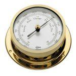 Barigo Star Golden brass Barometer Ø85/110mm #OS2836202