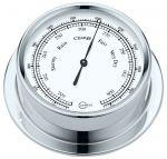 Barigo Regatta Chromed brass Barometer Ø100x120mm White Dial #OS2836502